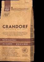 Grandorf 3кг для собак всех пород утка батат