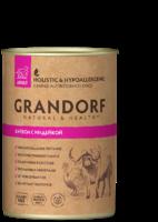 Grandorf ж\б 400г для собак буйвол индейка