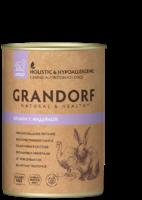 Grandorf 400г ж/б для собак кролик индейка
