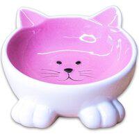 Миска керамическая керамикАрт мордочка кошки 200мл