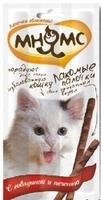 «Мнямс» лакомство для кошек говядина/печень, 10 шт.