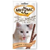 «Мнямс» лакомство для кошек индейка/ягненок, 10 шт.