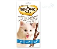 «Мнямс» лакомство для кошек лосось/форель, 3 шт.