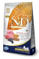 Корм N&D Dog  для мелких пород Ягненок-Черника 800 грамм  низкозерновой