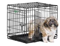 MidWest iCrate клетка для животных, 2 двери,черная 61*46*48см