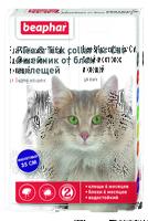 БЕАФАР Ошейник от блох и клещей д/кошек 35 см. фиолетовый