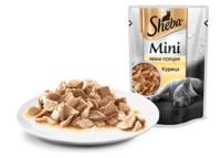 SHEBA (Шеба) мини порция, ломтики Курица 50 г пауч
