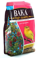 Вака High Quality корм для канареек, 500 гр.