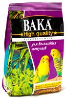 Вака High Quality корм для волнистых попугаев, 500 гр.
