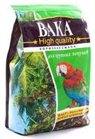 Вака High Quality корм для крупных попугаев, 500 гр.