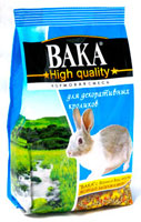 ВАКА High Qality корм для декоративных кроликов, 500 г