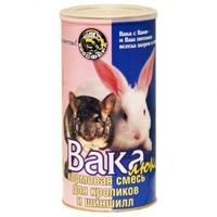 Вака Люкс, корм для кроликов и шиншилл, 800г