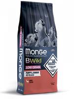 Корм MONGE BWILD 12кг для щенков всех пород оленина низкозерновой